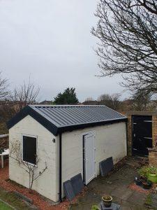 replacement garage roof Lanarkshire