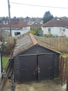 garage roof removal Glasgow
